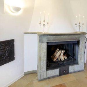 Salon EG mit Offenem Kamin Hochzeitslocation Schloss Maierhofen